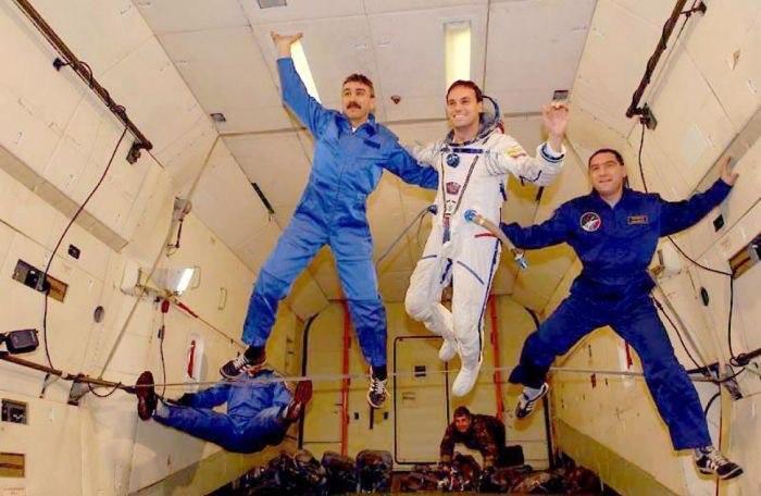 имитация полета в космос